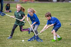 CYO helps the youngest begin lacrosse