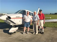 Priest pilots find inspiration, friends in the heavens