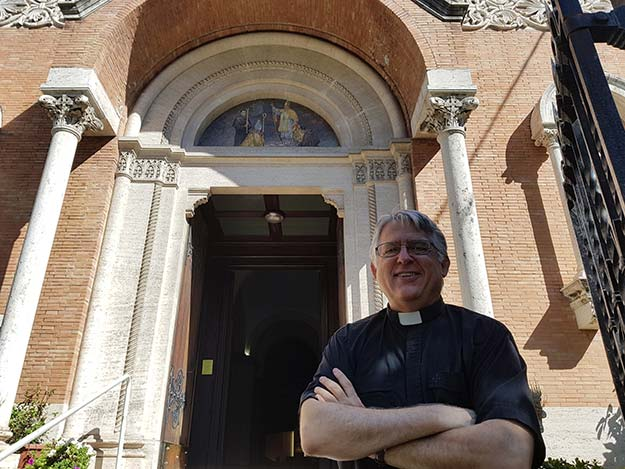 American community finds a new home in Rome
