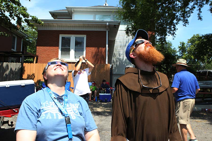Eclipse thrills, inspires viewers to admire the precision of creation