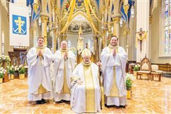 Holy Cross deacon ordained a priest