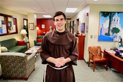 Friar on preaching tour in area