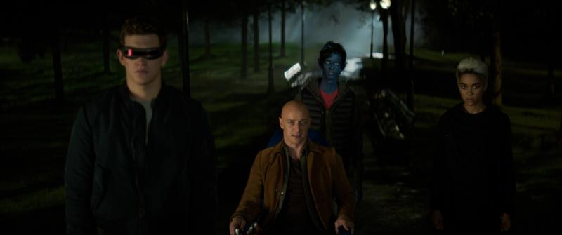 "Tye Sheridan, James McAvoy, Kodi Smit-McPhee and Alexandra Shipp star in a scene from the movie ""Dark Phoenix."" The Catholic News Service classification is A-III — adults. The Motion Picture Association of America rating is PG-13 — parents strongly cautioned. Some material may be inappropriate for children under 13. (CNS photo/Twentieth Century Fox)"