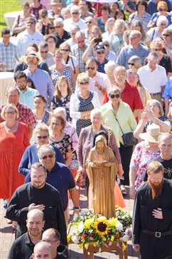 St. Benedict celebrated with hospitality