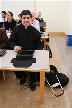 First blind seminarian at Mount Angel sees beyond external trappings