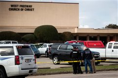 Texas bishops offer prayers for those affected by fatal church shooting