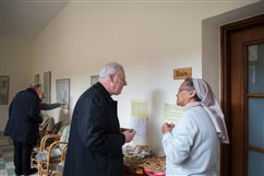 With wall on three sides, Comboni Sisters in West Bank build bridges