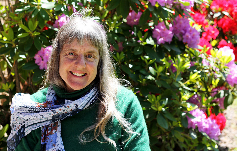 Susan Sygall, a disability rights activist who lives in Eugene, has a special friendship with the University of Portland. (Courtesy Mobility International USA)