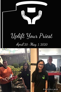 Uplift Your Priest campaign