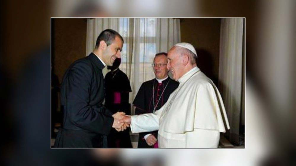 Father Fabio Salerno is newly appointed Secretary to Pope Francis. (Vatican News)