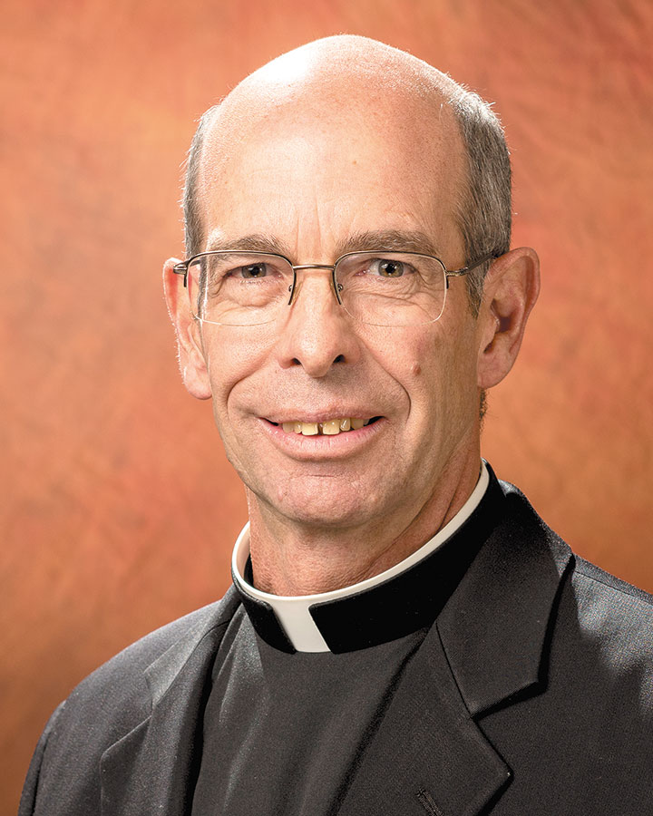 Fr. Don Gutmann, pastor at St. Clare